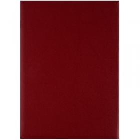 Папка адресная OfficeSpace, (без надписей), А4, бумвинил, бордовая, инд. упаковка 277209