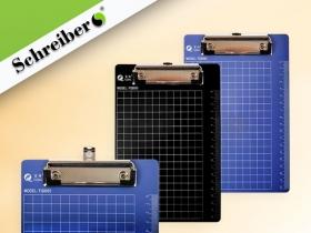 Клип-борд с разметкой и сантиметровой шкалой, А5, материал - пластик S 4042