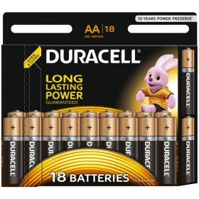 Батарейка Duracell Basic AA (LR06) алкалиновая, 18BL 5000394107519