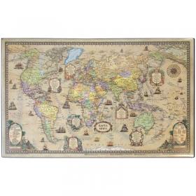 """Настольное покрытие """"Карта ретро"""" 38*59 см"""