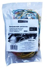 Банковская резинка 60мм цветная (БР-1308) 100г в упаковке БР-1308
