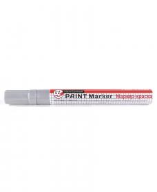 Маркер -краска СЕРЕБРЯНЫЙ  (МП-3087), 2мм, кратно 12 МП-3087