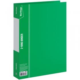 """Папка на 2-х кольцах Berlingo """"Standard"""", 40мм, 700мкм, зеленая ABp_24104"""