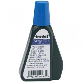 Штемпельная краска Trodat, 28мл, синяя 7011с