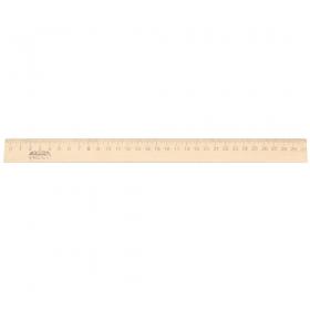 Линейка деревянная (Л-4267) 30 см
