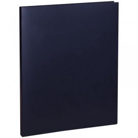 Папка с зажимом OfficeSpace, 15мм, 500мкм, черная FC1_310