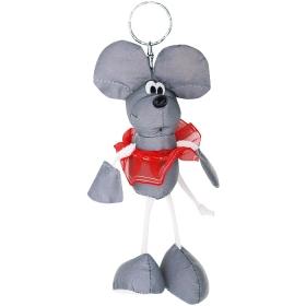 Светоотражающий брелок-игрушка мышка, DV-4594