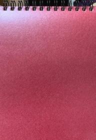 Блокнот формат А6, 64л, безлиновка, фактурный картон, евроспираль сверху 11с27