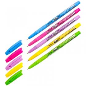 """Ручка шариковая Berlingo """"Blitz Pro"""", синяя, 0,7мм, корпус ассорти CBp_70835"""
