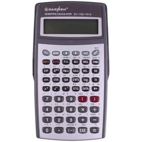 """Калькулятор научный 10+2 разряда """"Darvish"""" 156*86*16 мм 242 функции двустрочный экран, DV-152i-10+2"""
