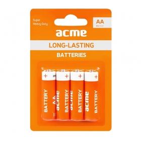 Батарейки солевые Acme Heavy Duty 1,5 V R6P (АА) (4 шт. в уп.) 855942