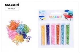 Набор конфетти, 6 цветов х 2.5 г, в пластиковых тубах, с европодвесом M-9804 цена за 6 шт