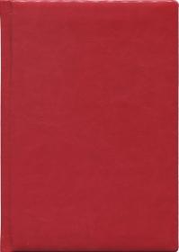 Ежедневник недатир. А5, 128л, ВИЛАДЖ красный (128П-1864) пухл.обл 128П-1864