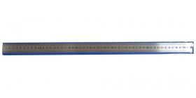 Линейка стальная (Л-6764) 50 см, толщина 0,3 мм, в пластиковом чехле, кратно 20 Л-6764