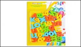 """Набор пластиковых магнитов """"Русский алфавит"""", 33 шт TZ 12841"""