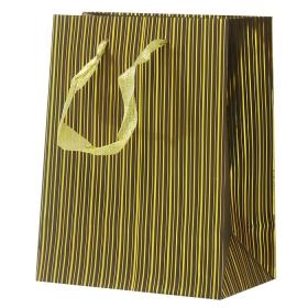 """Пакет подарочный 23*18*10см """"Darvish"""" полоски DV-1476C"""