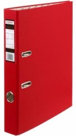 Папка регистратор А4, ПВХ, 50 мм. красная с уголком Tiralana Flax Vinil RMP50-421RD