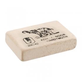 """Ластик """"Elephant"""" 300/40 KOH-I-NOOR прямоугольная, 35,5x23x8 мм, белая, натуральный каучук"""