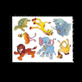 Трафарет-раскраска АФРИКАНСКИЕ ЖИВОТНЫЕ (200), ТР-04