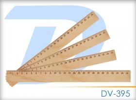 """Линейка  25см деревянная """"Darvish"""" DV-395"""