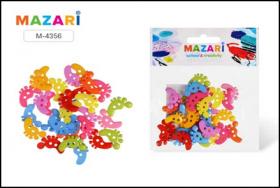 Набор для творчества НОЖКИ, 30 шт, разноцветные, пластик,  M-4356
