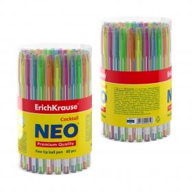 """Ручка шариковая """"Coctail"""", синяя, 0,6мм 33518"""