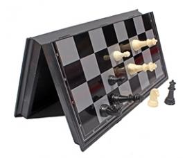 Шахматы магнитные пластиковые (поле 19 см) (Арт. P00081)
