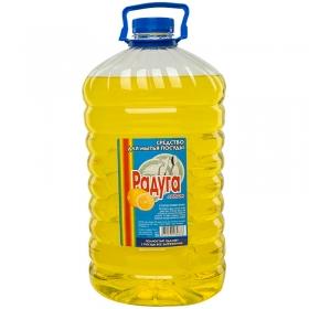 """Средство для мытья посуды Радуга """"Лимон"""", ПЭТ, 5л"""