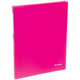 """Папка c пружинным скоросшивателем Berlingo """"Neon"""", 17мм, 700мкм, неоновая розовая AHp_00813"""