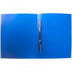 Папка с пружинным cкоросшивателем OfficeSpace, 14мм, 450мкм, синяя FS2_314