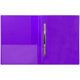 """Папка с пружинным скоросшивателем Berlingo """"Color Zone"""", 17мм, 600мкм, фиолетовая AHp_00607"""