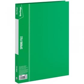 """Папка с пружинным скоросшивателем Berlingo """"Standard"""", 17мм, 700мкм, зеленая MH2332"""