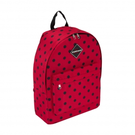 Рюкзак ErichKrause® EasyLine® 17L Dots in Red 51731