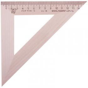 Треугольник 45°, 16см Можга, дерево С16