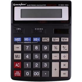 """Калькулятор настольный 16 разрядов """"Darvish"""" двойное пит 200*150*27 мм DV-8850-16DM"""