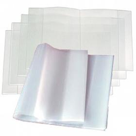 Обложка 100 мкм д/тетрадей и дневников полиэтилен,  (210*355) 11-14-100