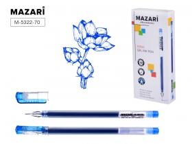 Ручка гелевая Jumbo, MINA, СИНЯЯ, с увеличенным количеством чернил, одноразовая, игольчатый M-5322-7