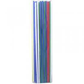 Палочки для воздушных шаров, 100шт., Поиск, ассорти 4607145438291