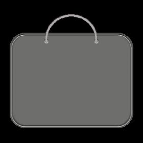Папка для менеджера А3 (ткань) ПДМ-2 СЕРАЯ