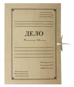Папка с завязками 0,6-516-СТР-3см РБ