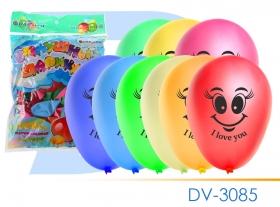 """Шары воздушные набор(100шт) Премиум смайлики  """"Darvish"""" ассорти DV-3085"""