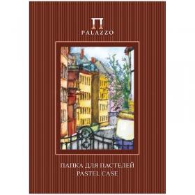 """Папка для пастелей 10л. А4 Лилия Холдинг """"Палаццо.Италия"""", 280г/м2, бумага, слоновая кость ПП4-сл"""