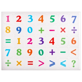 "Магниты для доски ""Цифры+знаки"" ""Darvish""DV-7842"