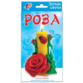 "Набор лепим свечи ""Роза"" 25С 1544-08"