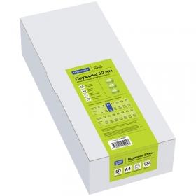 Пружины пластик D=10мм OfficeSpace, прозрачный. бесцветный, 100шт. PC7004