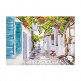 Альбом для рисования на клею ErichKrause® Promenade, А4, 40 листов 49839