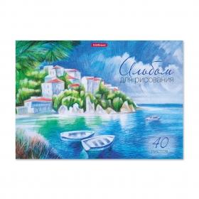 Альбом для рисования на клею ErichKrause® Южный берег, А4, 40 листов 49850
