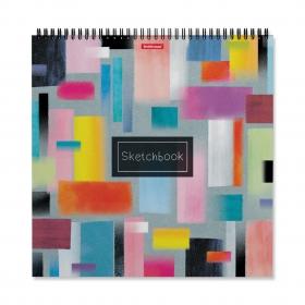 Альбом для эскизов на спирали ErichKrause® Абстракция, 295x295 мм, 40 листов 48042