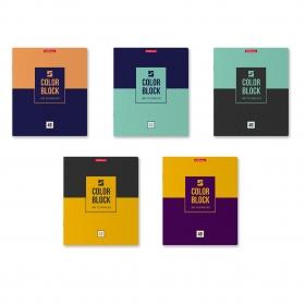 Тетрадь общая ученическая ErichKrause® Color Block, 48 листов, клетка 49578
