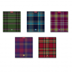 Тетрадь общая ученическая ErichKrause® Scottish Cage, 48 листов, клетка 47516